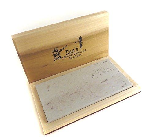 (Genuine Arkansas Soft (Medium) Wide Knife Sharpening Bench Stone Whetstone 6