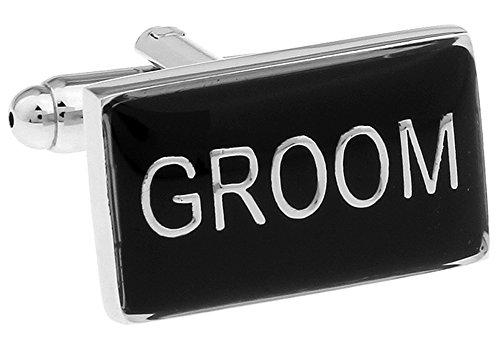 Emerald Cufflinks (Groom Cufflinks Wedding Cuff-links with Velvet Gift Box)