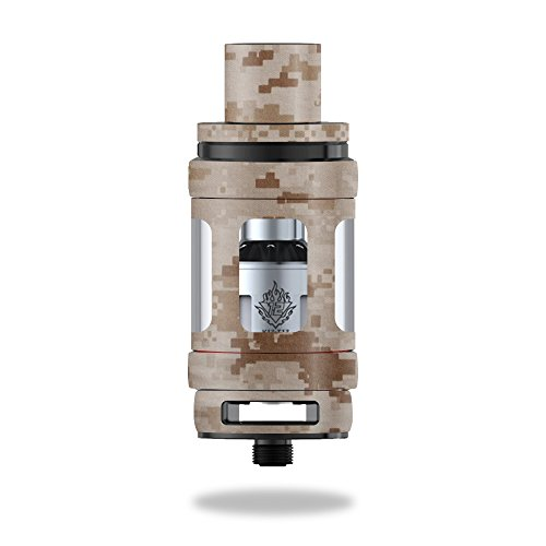 Skin For Smok TFV12 Cloud Beast King Tank – Desert Camo | MightySkins Protective, Durable, and Unique Vinyl Decal wrap cover | Easy To Apply, Remove, and Change Styles | Made in the USA (Tank Desert Camouflage)