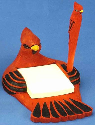 Cardinal Note Pad Holder with ()