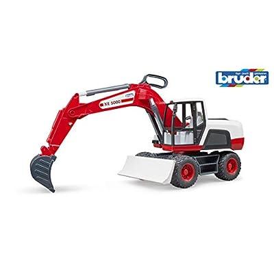 Bruder 03411 Wheeled Excavator: Toys & Games