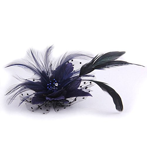 Dot Corsage - Korean high-end custom silk yarn dot bow brooch corsage orchid banquet hosted wedding dress with a fur suit