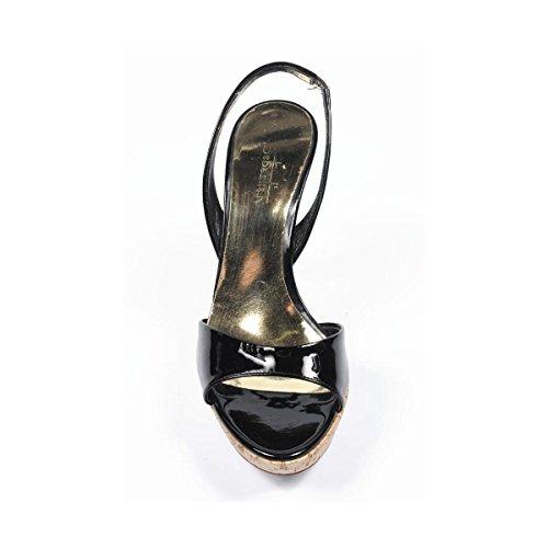 Sebastian Milano - Sandalias de vestir para mujer negro negro 36 EUR - 6 US negro