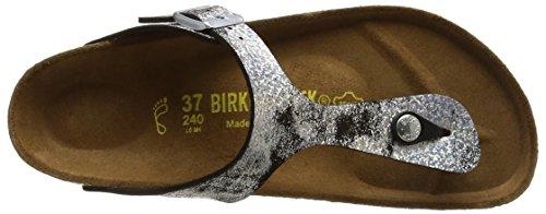 Birkenstock Gizeh Bf - Sandalias de sintético mujer negro - Black (Stardust Black)