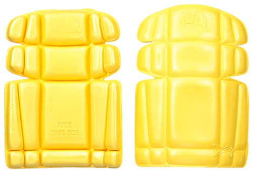 Caterpillar Knee Pads, Yellow, O...