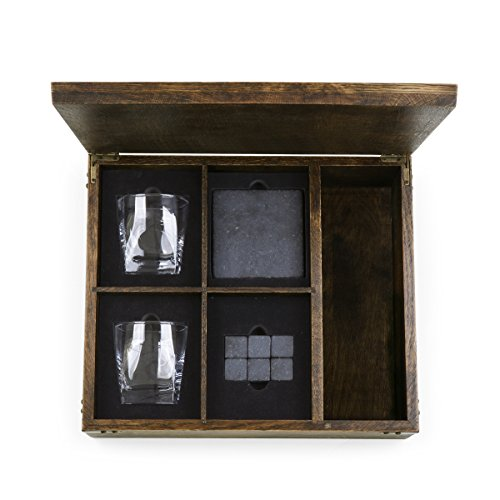 LEGACY - a Picnic Time Brand Whiskey Box Gift Set with Service for Two by LEGACY - a Picnic Time Brand (Image #4)