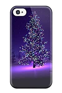 Muriel Alaa Snap-on Case Designed For Ipod Touch 5 Case Cover - Christmas Trees 3918184K48812363