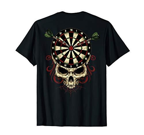 Darts-Shirt Skull Bullseye - for DART-PLAYERS - BACKPRINT