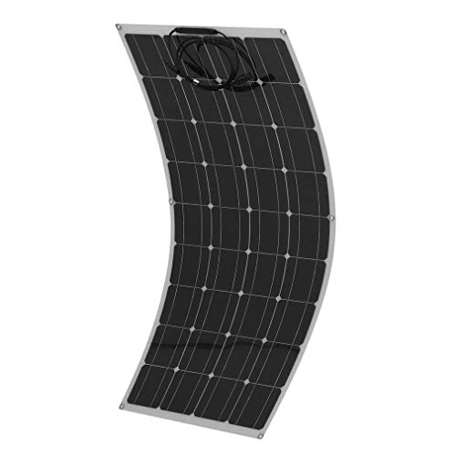 Happystore999 Monocrystalline Solar Panel 160W Portable Flexible Solar Panel Bendable