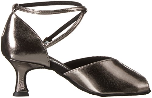 Diamant Women's Damen Tanzschuhe 027-077-072 Closed-Toe Pumps, Bronze Brown (Schwarz)