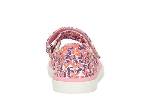 Clarks  Brill Gem Inf, Chaussures de ville à lacets pour fille rose rose