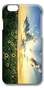 iPhone 6 Case, Custom Design Covers for iPhone 6 3D PC Case - Sunshine Flowers