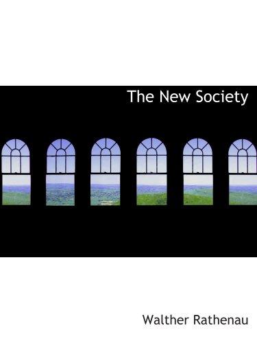 The New Society PDF ePub fb2 book