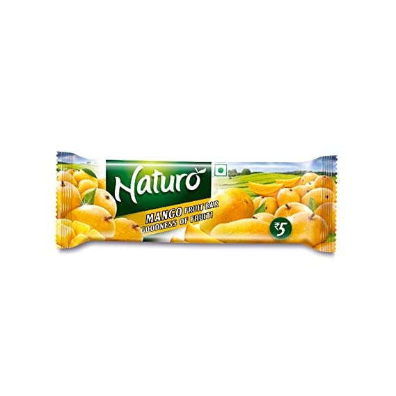 Naturo Mango Fruit Bar 11g- Pack of 36