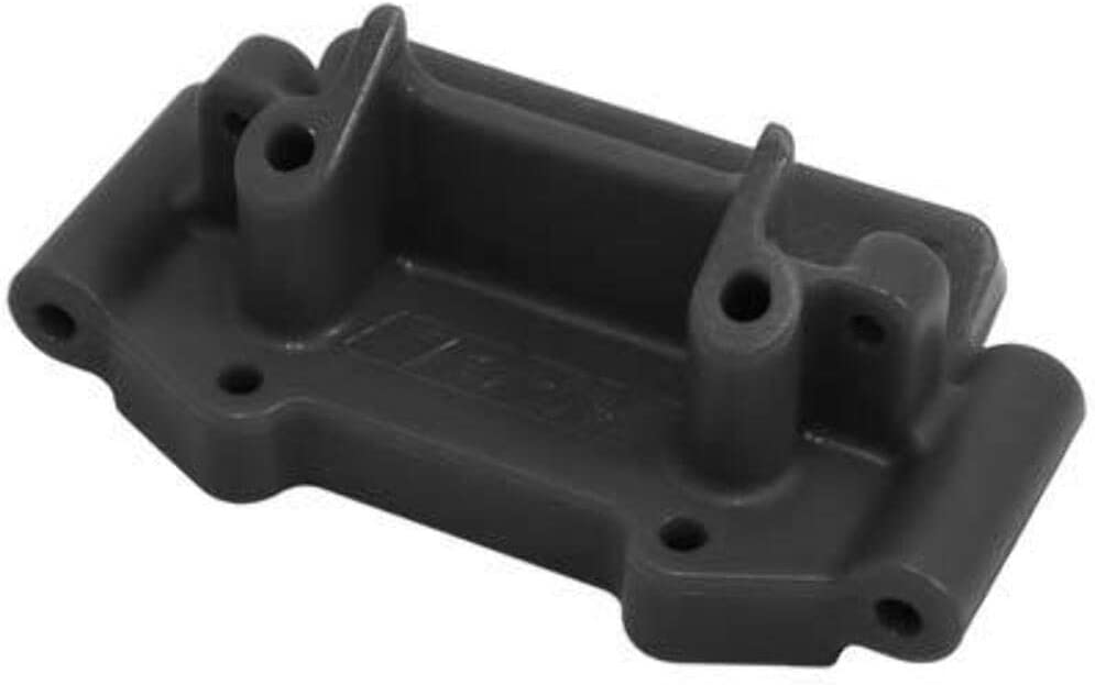 RPM Front Bulkhead for Traxxas 2wd 1:10 scale Vehicles Black RPM73752