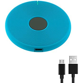 outlet dark lightning Wireless Charger Charging Pad for iPhone 8/8 Plus, iPhone X, Galaxy Note 5, S7/S7 Edge/S6/S6 Edge/S6 Edge Plus, Nexus 4/5/6/7, LG G3 and Other Devices Fast Qi (Stand - No AC Adapter)