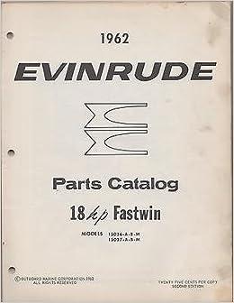 evinrude parts manual