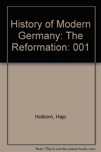 History of Modern Germany: The Reformation