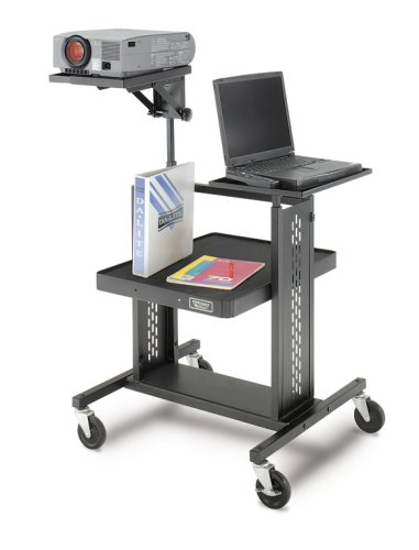 Adjustable Projector Table with 7