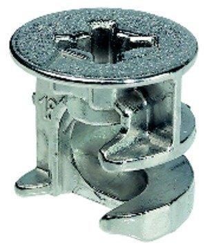 100 x conector GedoTec carcasa cuerpo conector Minifix{15} para cierre de bisagra tapas de herrajes Minifix GedoTec®