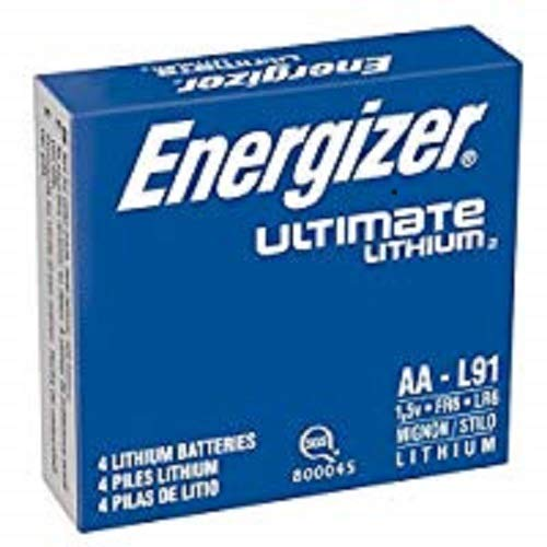 - energizer L91 AA Ultimate Lithium Batteries (Pack of 4)