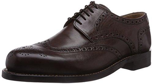 J.Briggs Goodyear, scarpe stringate da uomo Braun (171 Mokkka)