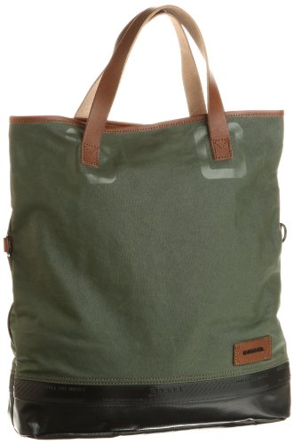 Diesel Rubber Divers Half Twist Bags Olive/Green One Size NWT