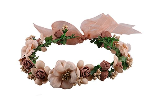 Wedding Headband Garland Adjustable Festivals