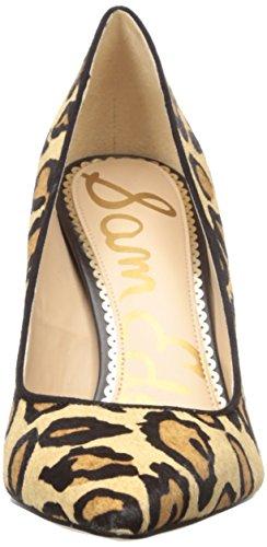 Leopardo de Mujer Zapatos Edelman Piel Sam Tacón con para Punta Cerrada Hazel qPTHBHwxg