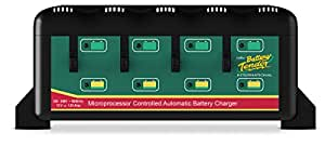 Battery Tender 4-Bank Battery Charger W/ 4 Independent Stations 022-0148-DL-WH Marine RV Boating Accessories