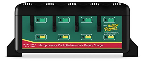 Battery Tender 4 Bank Battery Charger W  4 Independent Stations 022 0148 Dl Wh Marine Rv Boating Accessories