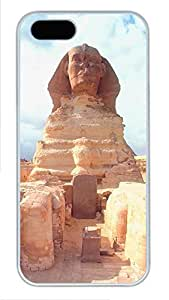 iPhone 5 5S Case Landscapes Sphinx PC Custom iPhone 5 5S Case Cover White
