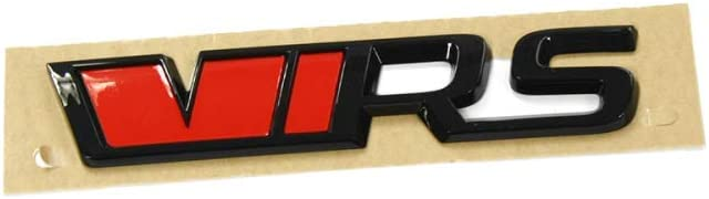 Skoda 565853687jxpc Schriftzug Vrs Schwarz Tuning Heckklappe Emblem Blackline Logo Auto