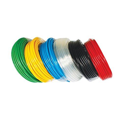 Polyurethane Pneumatic tube 95A METRIC Tubing OD:4mm ID:2.4mm 500FT Orange by HFS