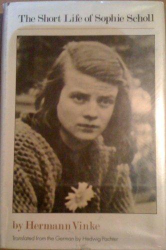 9780060263027 - Vinke, Hermann: The short life of Sophie Scholl - Buch