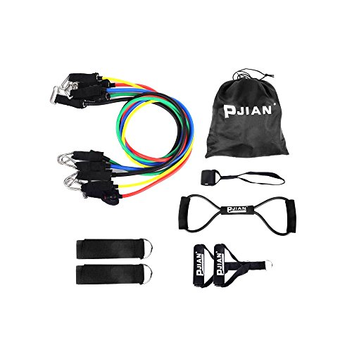 Colorful Latex Resistance Band Set Resistance 100 LBS
