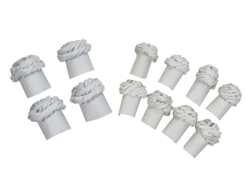 Regency Chop Frills Decorative Holders for Chops and Chicken Legs, 4 Chicken Frills and 8  Chops Frills