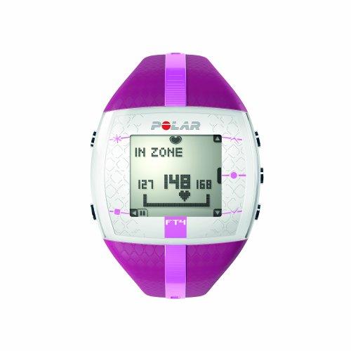 Polar cardiofréquencemètre FT4 Cœur (Rose / Violet)