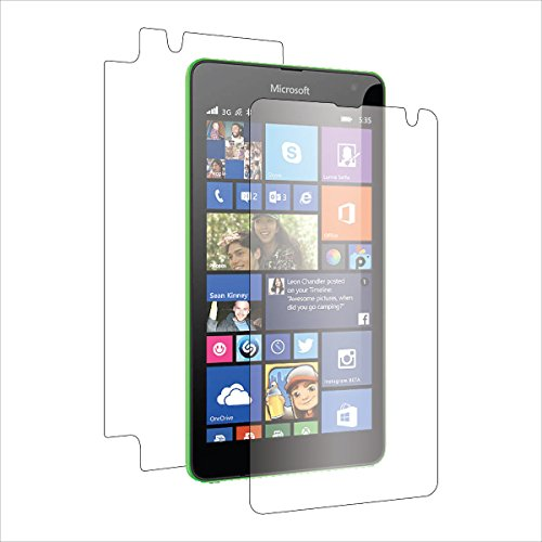(2-Pack) StealthShields Full Body Screen Protector for Microsoft Lumia 535 (Ultra Clear)