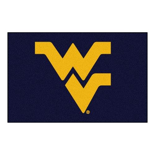 Fanmats NCAA West Virginia University Mountaineers Nylon Face Starter Rug