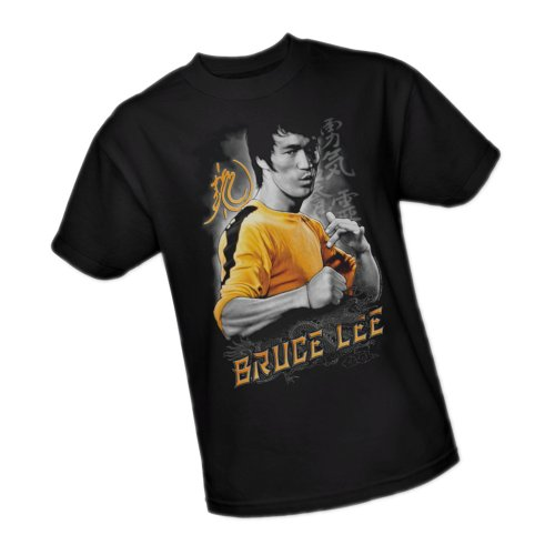 Yellow Dragon -- Bruce Lee Youth T-Shirt, Youth Large