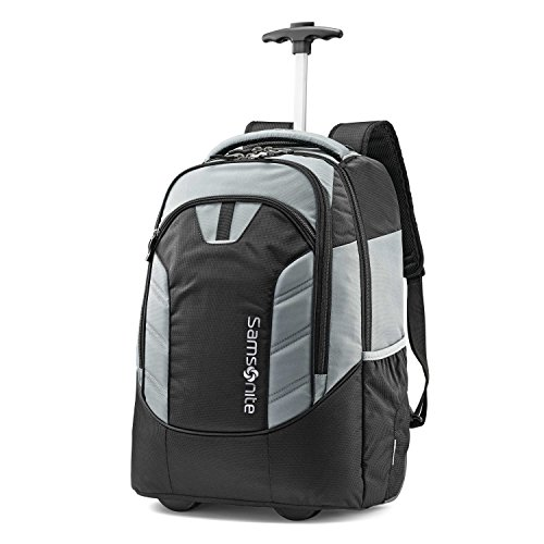 (Samsonite Mighty Wheeled Backpack Black/Grey)