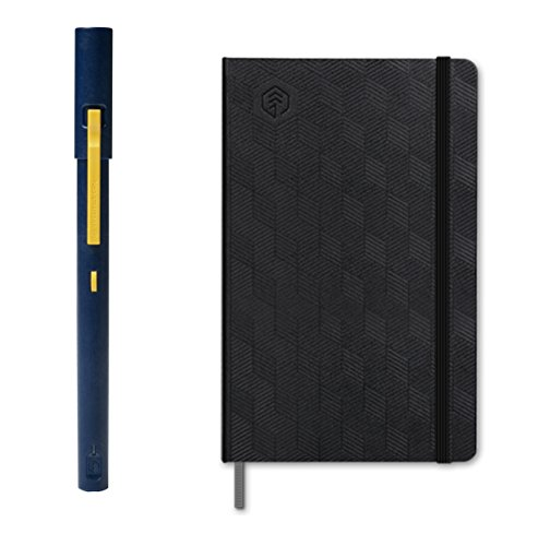 NeoLab Convergence Neopen M1 Smartpen with Transcribing Notebook Bundle for iOS and Android Smartphones and Tablets - Navy