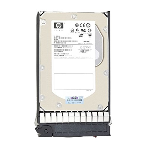 HP 488060-001 300.0GB hot-plug Serial Attached SCSI (SAS) hard drive - 15,000 RPM, 3.0Gbps/sec transfer rate, 3.5-inch form factor (Part of 416127-B21) New Bulk