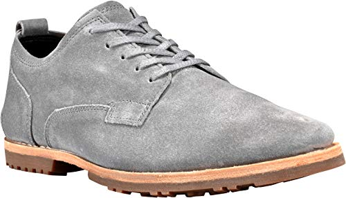 Timberland Men's Boot Company Bardstown Plain Toe Oxford Medium Grey Suede 10 D US