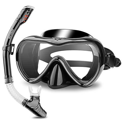 QTECLOR Snorkel Mask Set