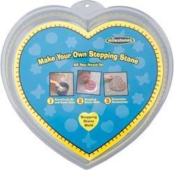 Milestone Bulk Buy Stepping Stone Mold Heart 12 inch 90723123 (3-Pack)