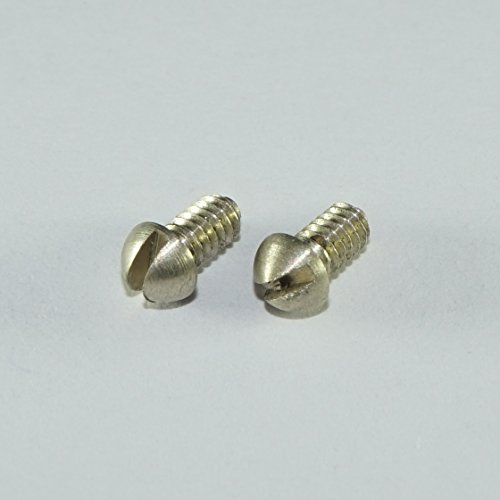French Horn Trombone Tuba Cork Stop Rotor Plate Screw Conn King Bach Benge - Set of 2