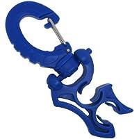 Abrazadera para dos latiguillos con clip - Para buceo