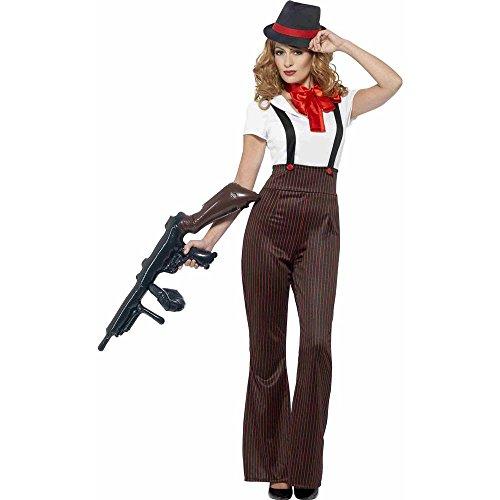 Smiffy's Women's Glam Gangster Costume